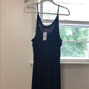 Gorgeous Lane Bryant Spaghetti Strap Black Dress